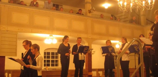 Charity concert in the Spreewald